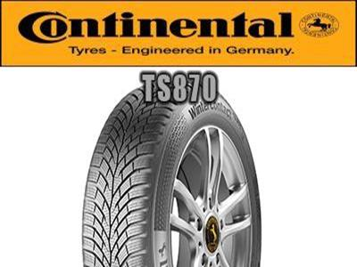 Continental - WinterContact TS 870