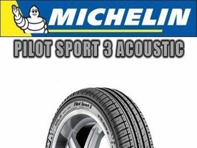 Michelin - PILOT SPORT 3 ACOUSTIC