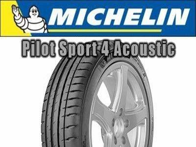 Michelin - PILOT SPORT 4 S ACOUSTIC