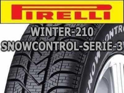 Pirelli - Winter 210 SnowControl Serie 3