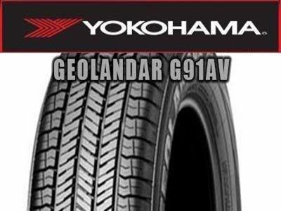 Yokohama - GEOLANDAR G91AV